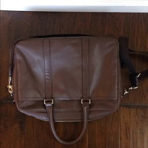 Coach Bags - Coach Leather Briefcase